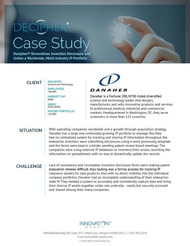 CaseStudy-Danaher